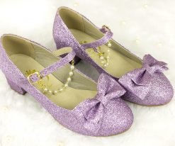 Crystal Twinkle Ball Low Heel Version
