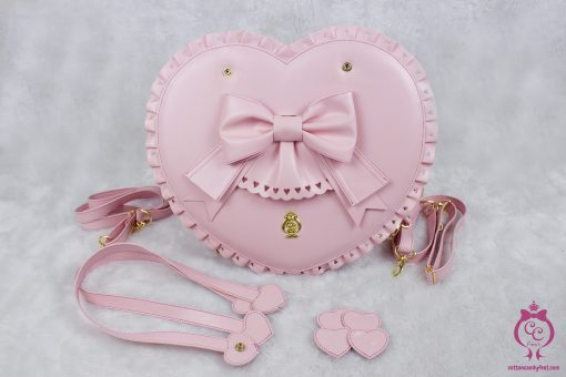 Bubble Heart Bag - DELUXE PINK