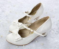 SAMPLE SALE - Crystal Twinkle Ball Shoes  White Glitter 43EU