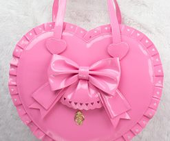 Bubble Heart Bag DELUXE BUBBLEGUM PINK