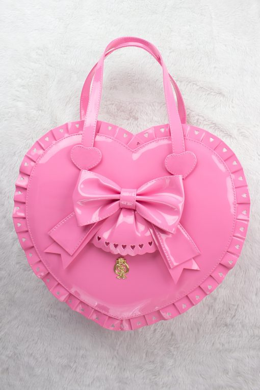 Bubble Heart Bag DELUXE BUBBLEGUM PINK