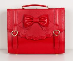 Frilly Academy 3way Bag - Red